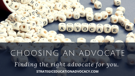 education advocacy special education advocate